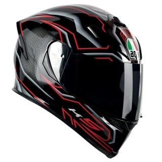 AGV K5 DEEP black/red